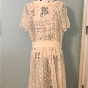 Anthropologie Dresses - Anthropologie leifnotes lace sequin dress,Sz 10-16